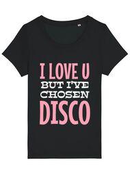 Tricou STANLEY STELLA dama I've chosen disco Negru