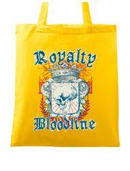 Sacosa din panza Royalty bloodline Galben