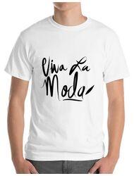 Tricou ADLER barbat Viva la moda Alb