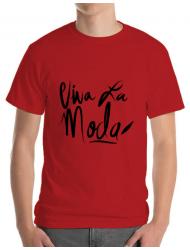 Tricou ADLER barbat Viva la moda Rosu