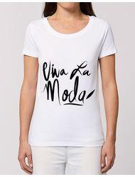 Tricou STANLEY STELLA dama Viva la moda Alb