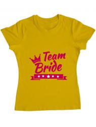 Tricou ADLER dama Team Bride Galben