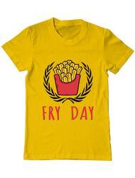 Tricou ADLER barbat Fry Day Galben