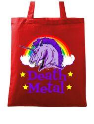 Sacosa din panza Death Metal Rosu