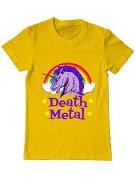 Tricou ADLER barbat Death Metal Galben