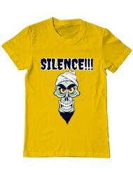 Tricou ADLER barbat Silence Galben