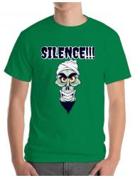 Tricou ADLER barbat Silence Verde mediu