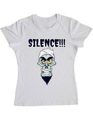 Tricou ADLER dama Silence Alb