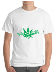 Tricou ADLER barbat Vegan Alb