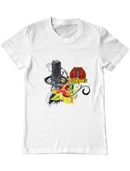 Tricou ADLER barbat CARaoke design #3 Alb