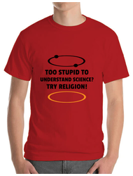 Tricou ADLER barbat Try religion Rosu