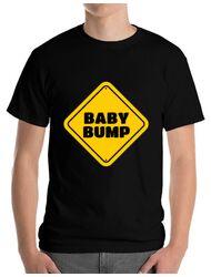 Tricou ADLER barbat Baby bump Negru