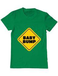 Tricou ADLER barbat Baby bump Verde mediu