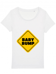 Tricou STANLEY STELLA dama Baby bump Alb