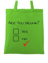 Sacosa din panza Are you drunk? Verde mar