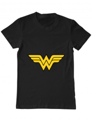 Tricou ADLER barbat Wonder woman Negru
