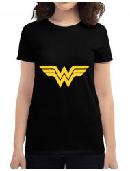 Tricou ADLER dama Wonder woman Negru