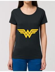 Tricou STANLEY STELLA dama Wonder woman Negru