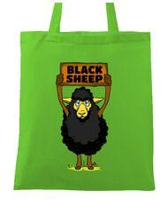 Sacosa din panza Black sheep Verde mar