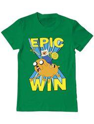 Tricou ADLER barbat Epic win Verde mediu