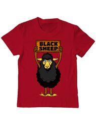 Tricou ADLER copil Black sheep Rosu
