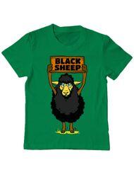 Tricou ADLER copil Black sheep Verde mediu