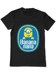 Tricou ADLER barbat Bananana Negru
