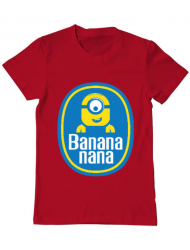 Tricou ADLER barbat Bananana Rosu