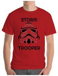 Tricou ADLER barbat Storm trooper Rosu