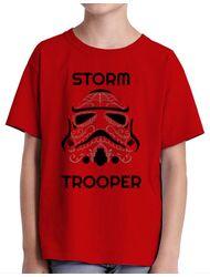 Tricou ADLER copil Storm trooper Rosu