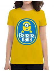 Tricou ADLER dama Bananana Galben