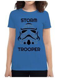 Tricou ADLER dama Storm trooper Albastru azuriu