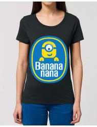 Tricou STANLEY STELLA dama Bananana Negru