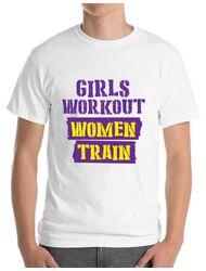 Tricou ADLER barbat Women train Alb
