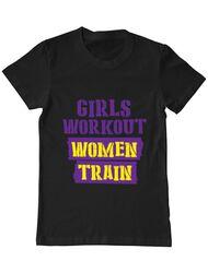 Tricou ADLER barbat Women train Negru