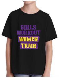 Tricou ADLER copil Women train Negru