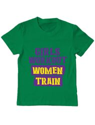 Tricou ADLER copil Women train Verde mediu