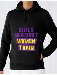 Hoodie barbat cu gluga Women train Negru