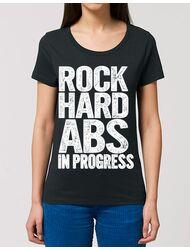 Tricou STANLEY STELLA dama Rock hard abs Negru