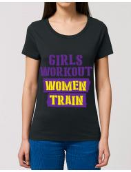 Tricou STANLEY STELLA dama Women train Negru