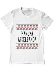Tricou ADLER barbat Mandra ardeleanca Alb