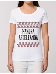 Tricou STANLEY STELLA dama Mandra ardeleanca Alb