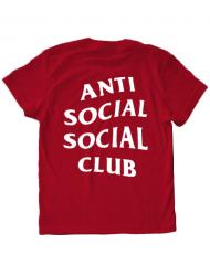 Tricou ADLER copil Anti social Rosu