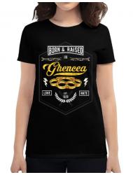 Tricou ADLER dama Ghencea Negru