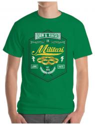 Tricou ADLER barbat Militari Verde mediu