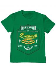 Tricou ADLER copil Bucuresti Verde mediu