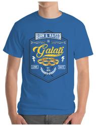 Tricou ADLER barbat Galati Albastru azuriu