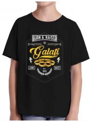 Tricou ADLER copil Galati Negru