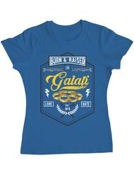 Tricou ADLER dama Galati Albastru azuriu