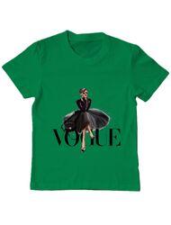 Tricou ADLER copil Little black tutu Verde mediu
